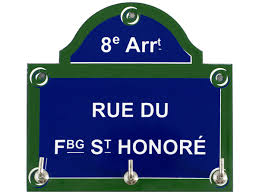 Rue Faubourg St Honore